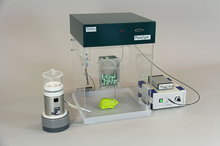 PhenoTyper optogenetics setup